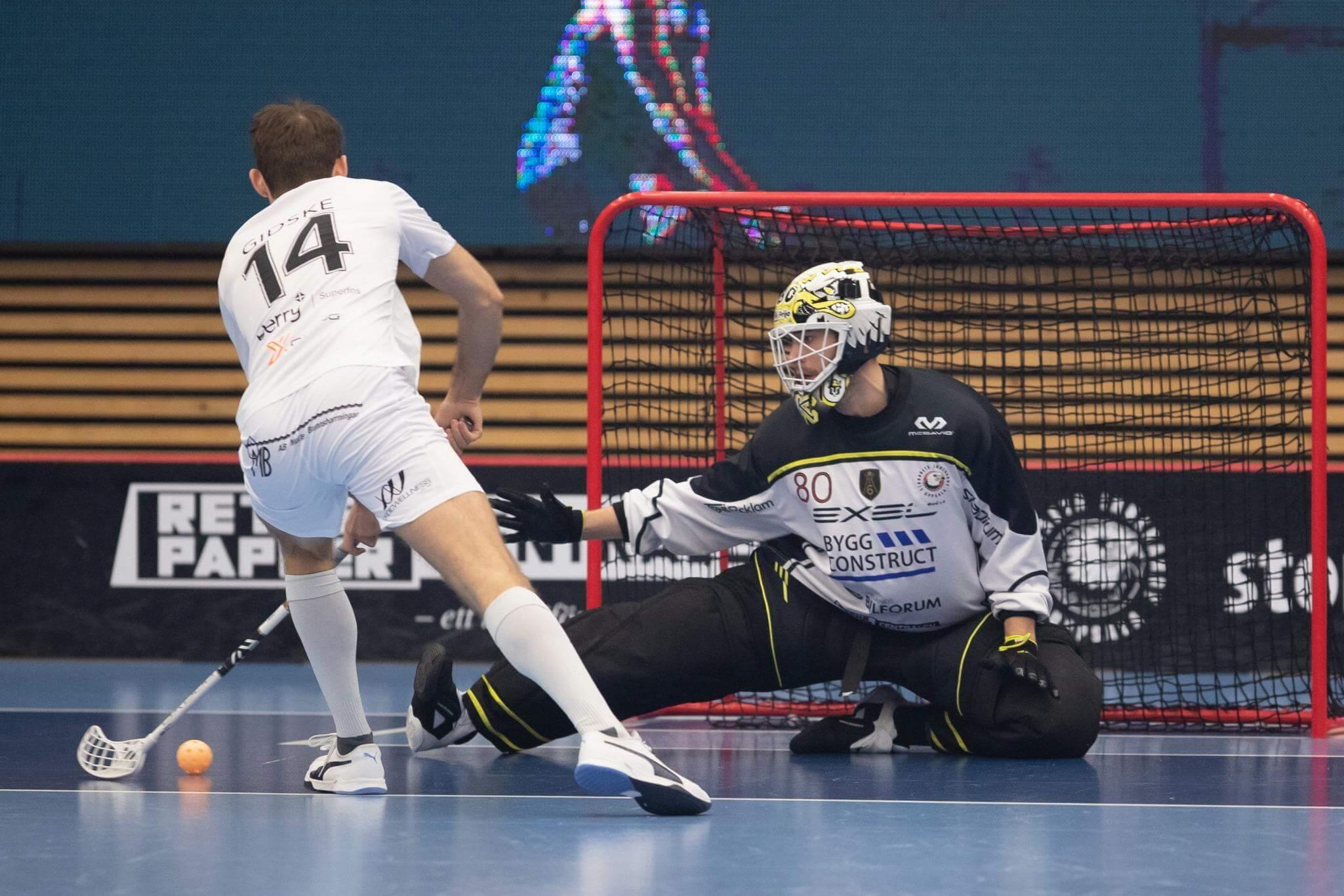 Daniel Gidske har notert seg for seks poeng (3+3) i sluttspillet så langt. Foto: Peter Bohlin