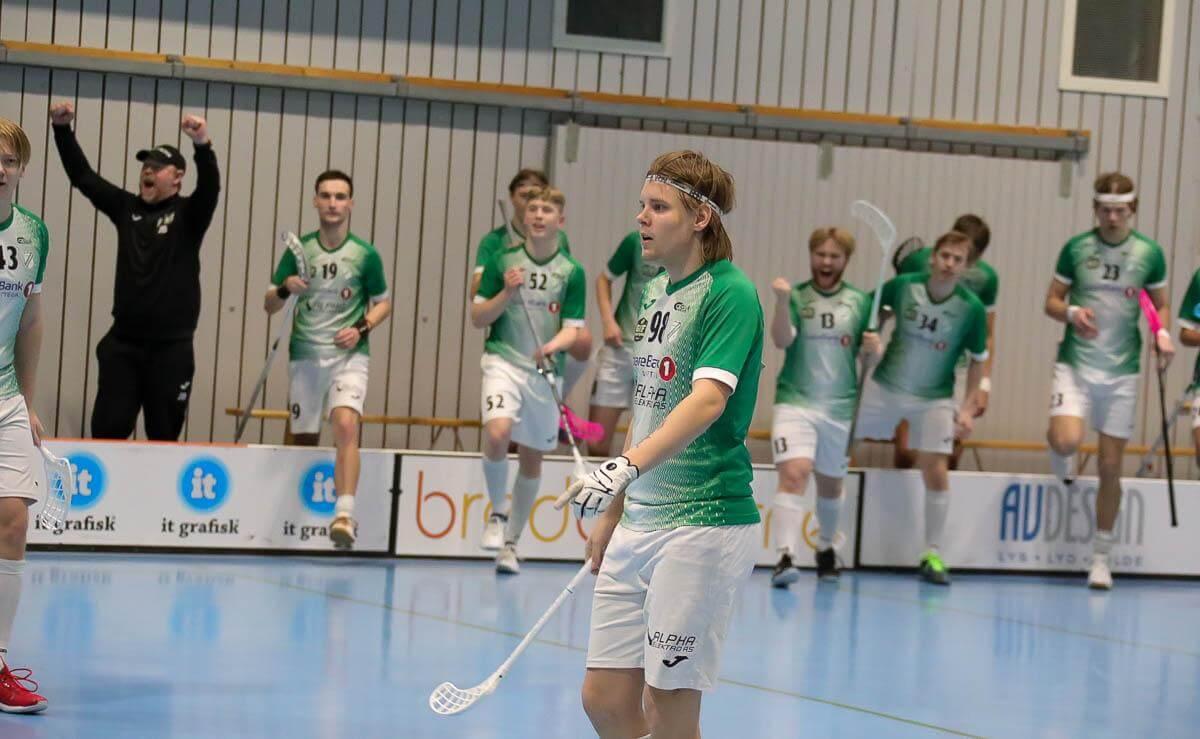 Kjetil Bratland scoret to ganger da Gjelleråsen slo Harstad. Foto: Tor Anders Dalland