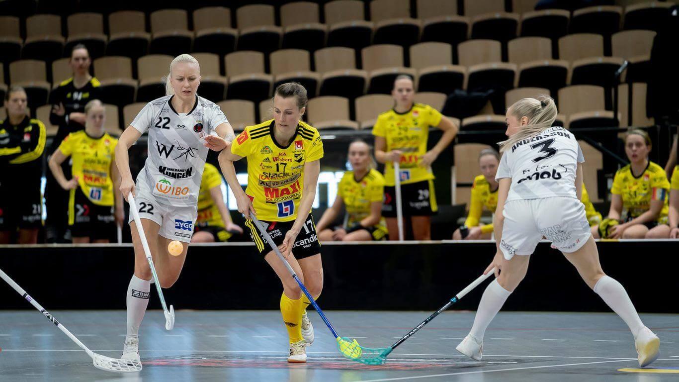 Anna Jakobsson scoret to ganger og brente en straffe da Endre tapte også den andre semifinalen mot Pixbo. Foto: Magnus C. Lydahl