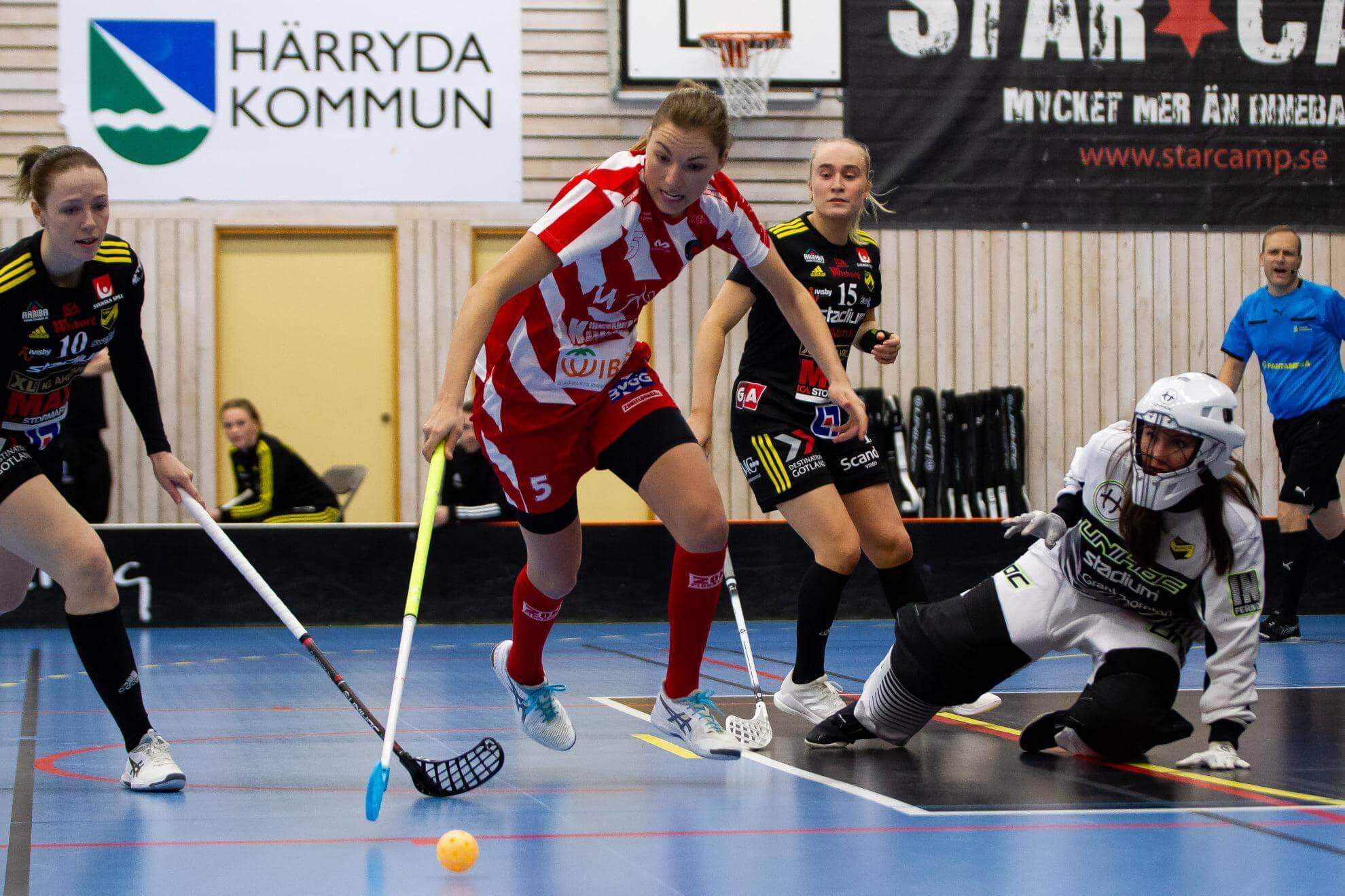 Eliska Krupnova ordnet spilleforlengelse, men klarte ikke å overliste Endres målvakt da kampen gikk til straffeslag. Foto: A. Kårhag