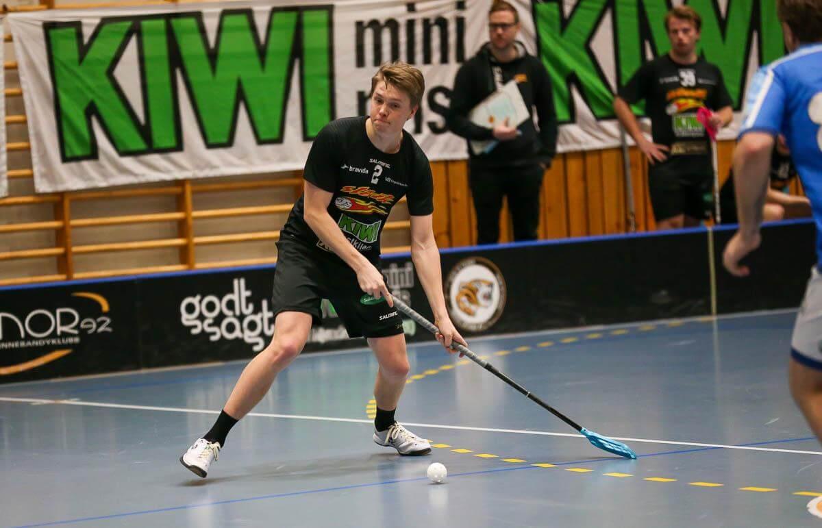 Ludvik Hansen og Slevik fikk kjempe for poengene i kveld. Foto: Kent Henriksen