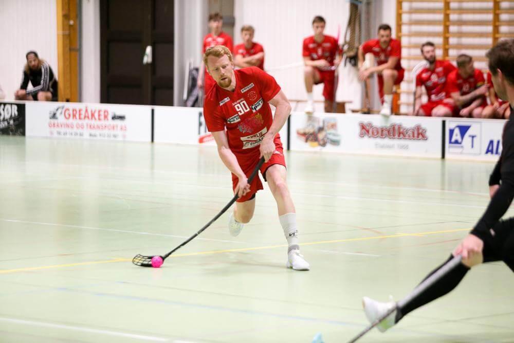 Michael Helgesen har forlenget sin kontrakt med Greåker. Foto: Kent Henriksen