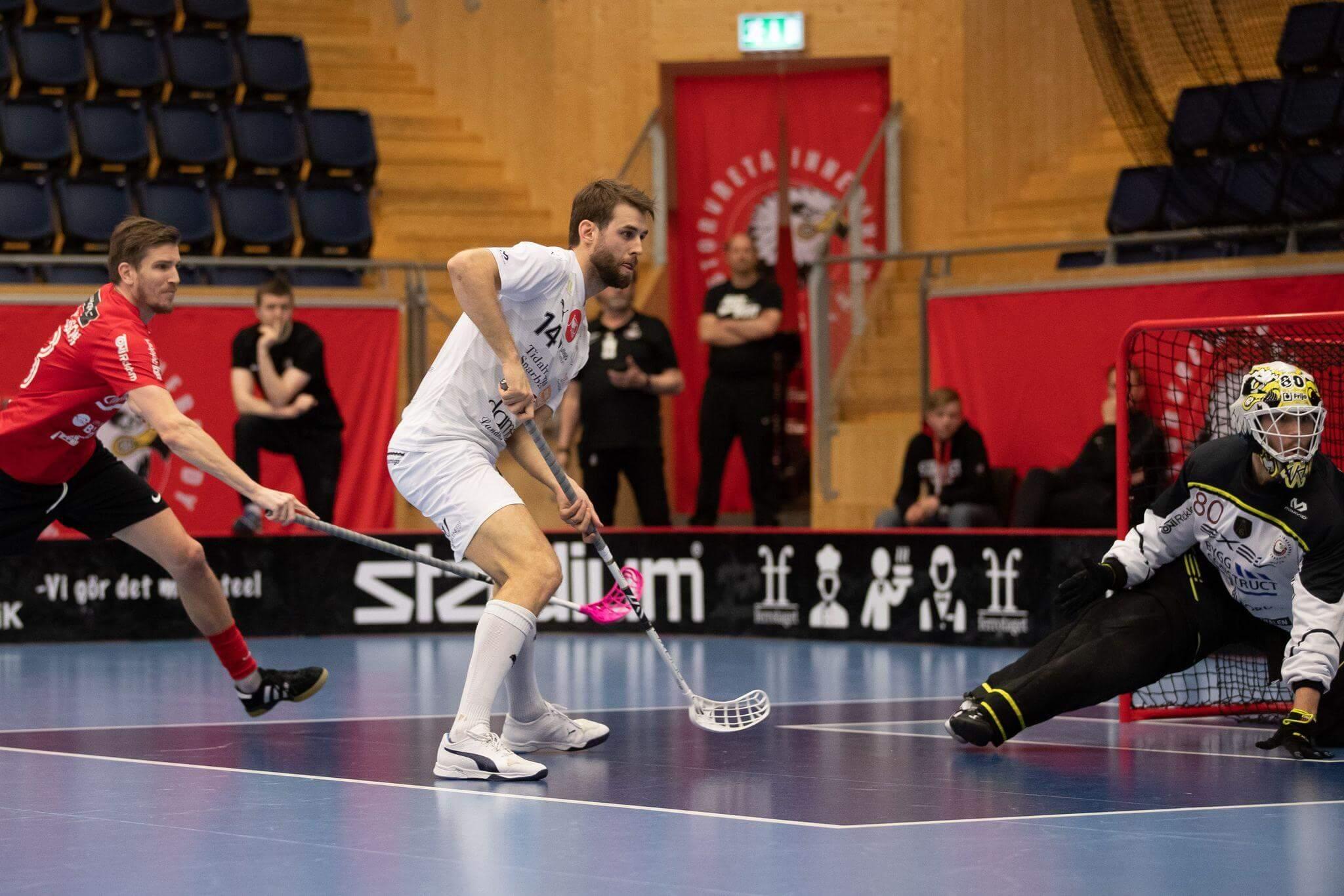 Daniel Gidske og Mullsjö trenger seier på fredag for å forlenge sesongen. Foto: Peter Bohlin