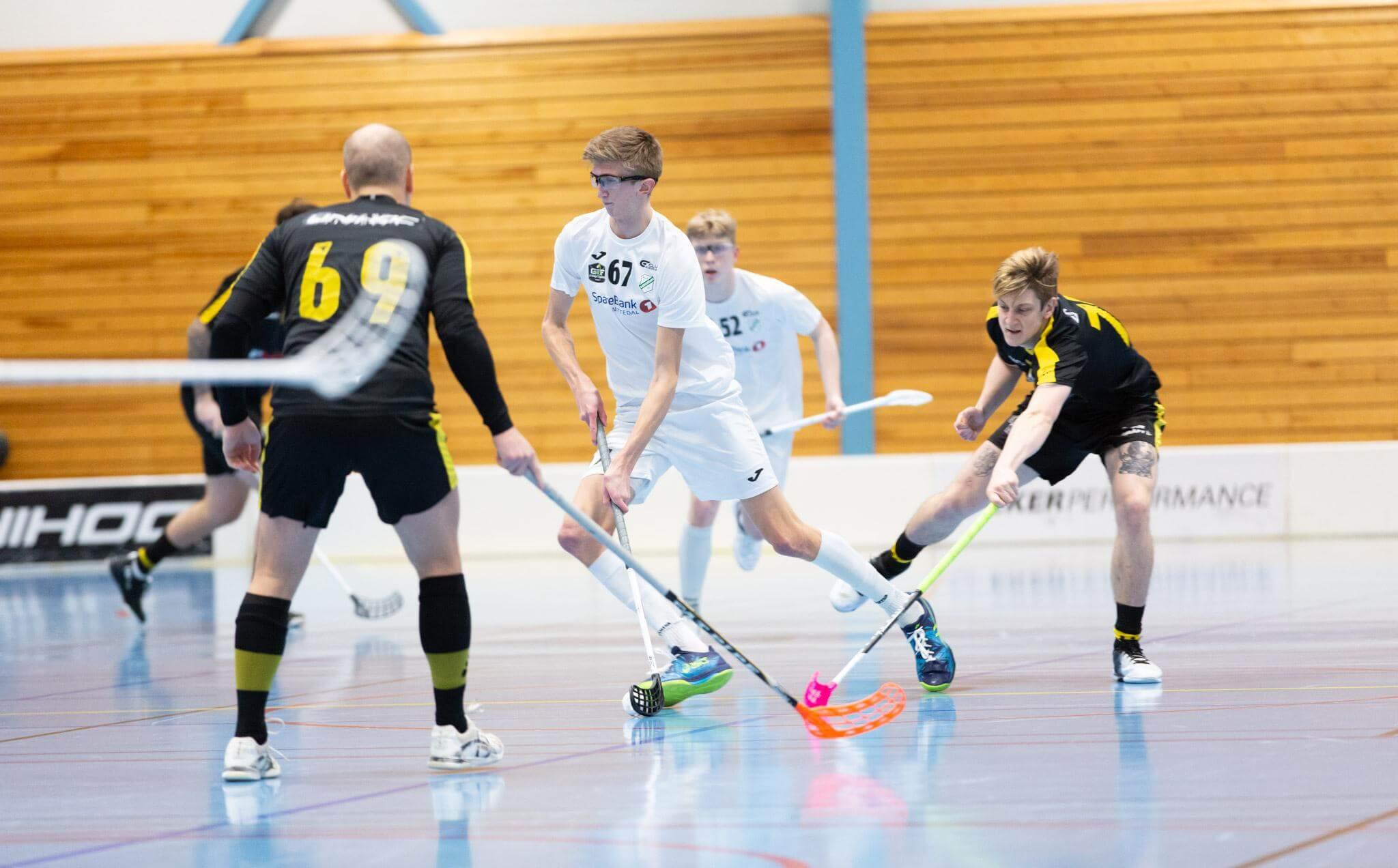 Gjelleråsen kjempet godt men klarte ikke å få med seg poeng hjem fra Vestlandet i dag. Foto: Børge Andreassen