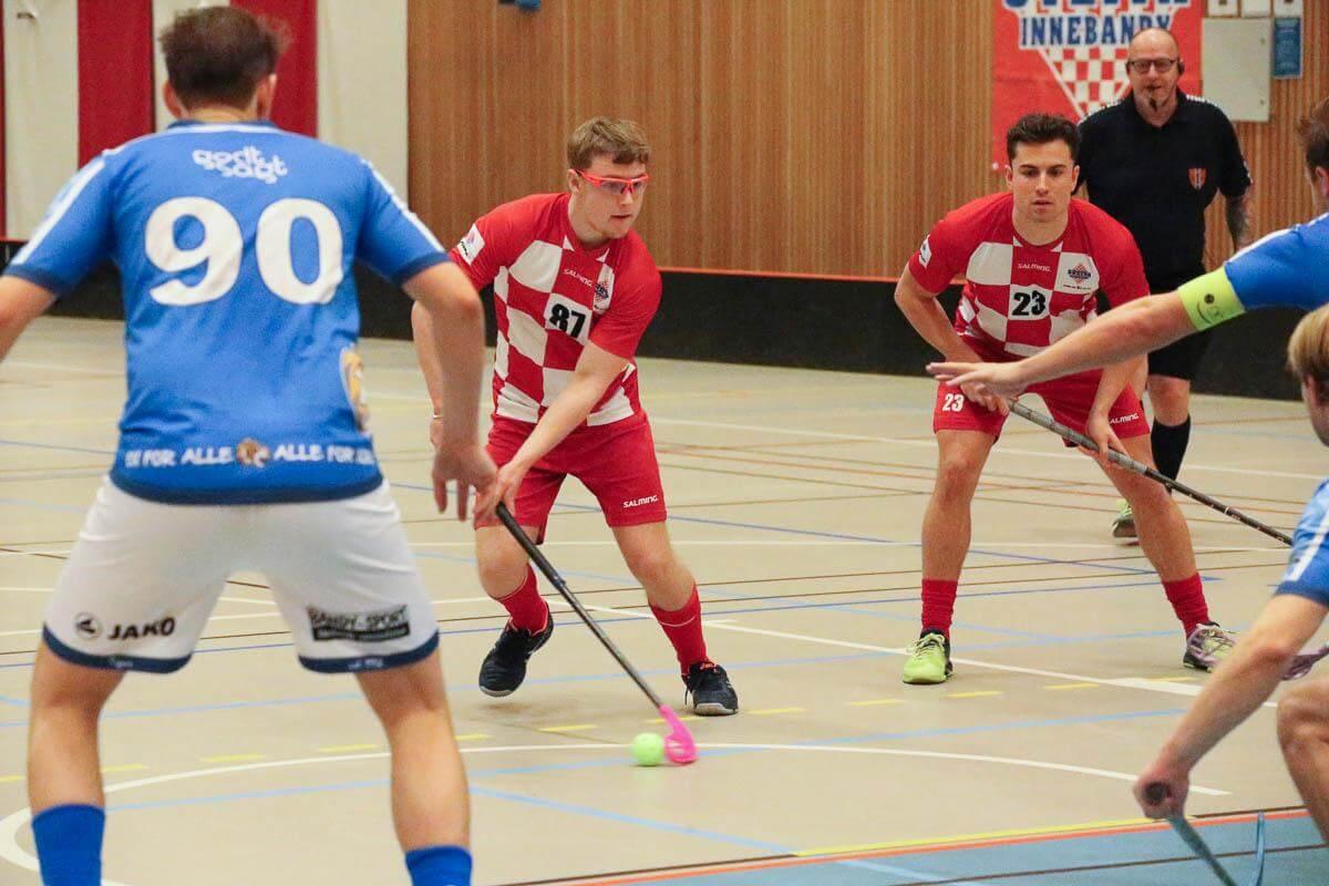 Elias Snellingen-Vikbjer debuterte for Sveiva i dagens oppgjør mot Nor 92. Foto: Kent Henriksen