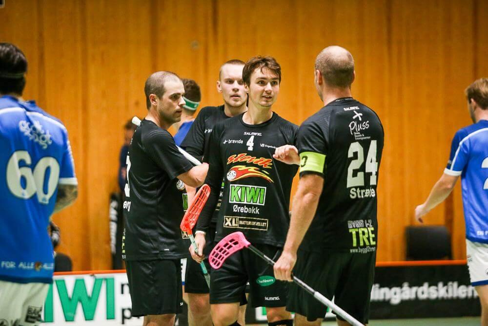 William Andersson har gjort 12 poeng (6+6) på ti kamper for Slevik denne sesongen. Foto: Kent Henriksen