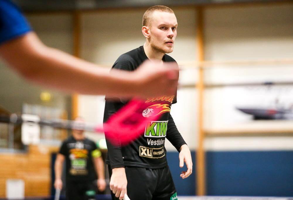 Gustav Franzon har vært en viktig brikke for Slevik etter overgangen fra svensk 1.divisjon. Foto: Kent Henriksen