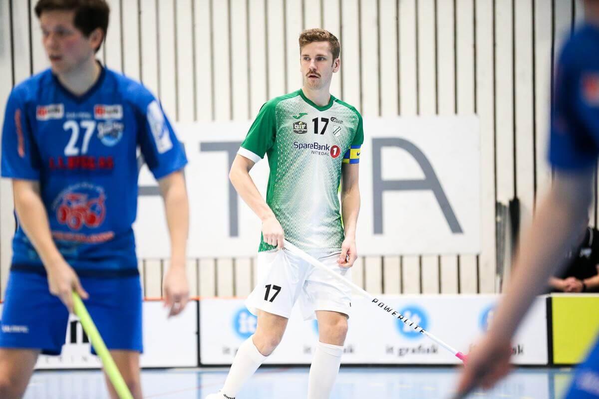 Mikael Broms var Gjelleråsens beste poengplukker før serien ble stoppet, og lå på niende plass totalt i poengstatistikken. Foto: Kent Henriksen
