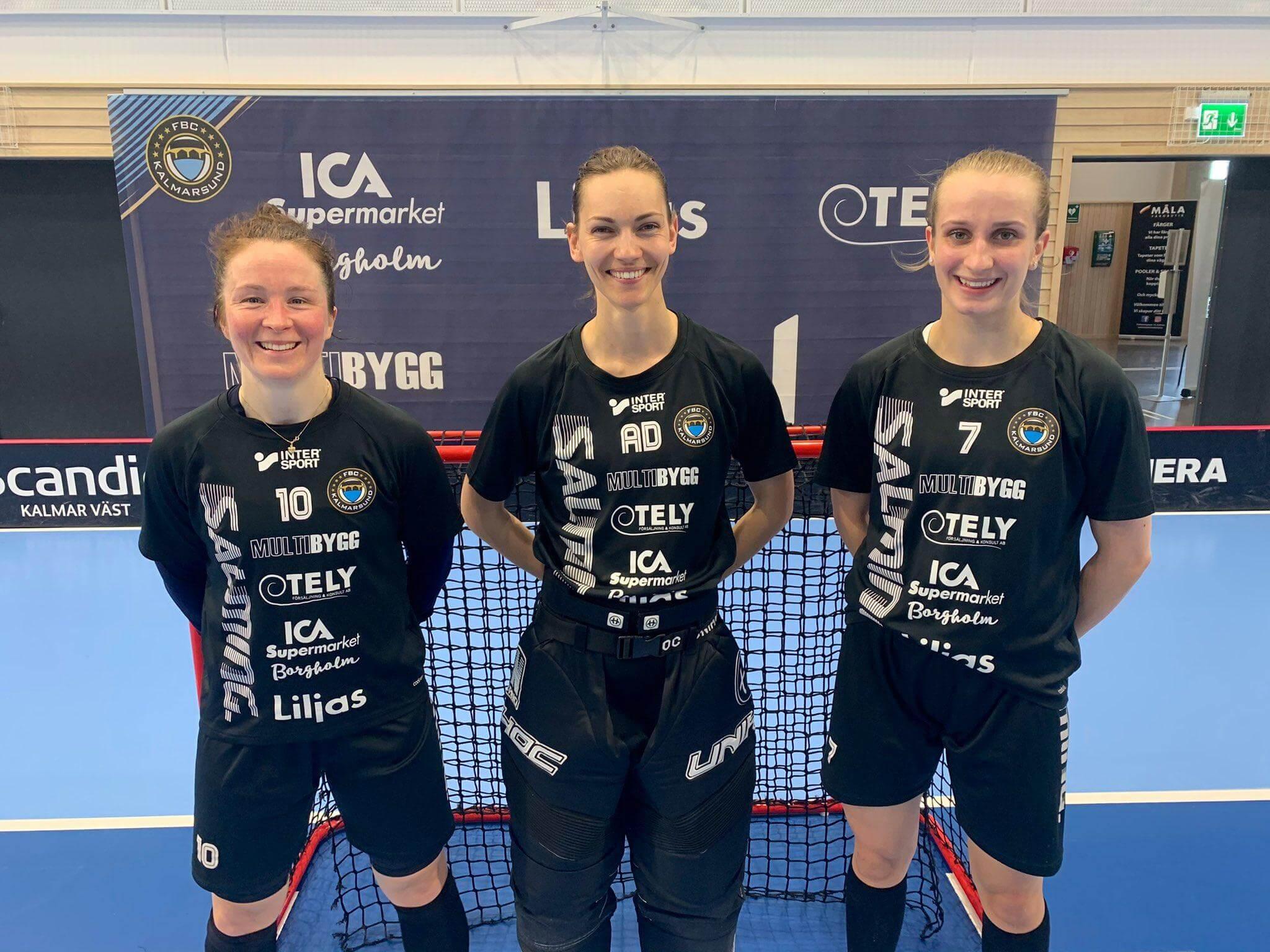 De norske spillerne er på plass i Kalmarsund. Foto: Magnus C. Lydahl