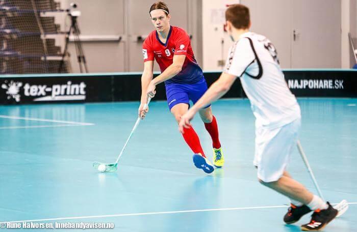 Samuel Hellström var med og førte Norge til VM for et drøyt år siden. Foto: Rune Halvorsen