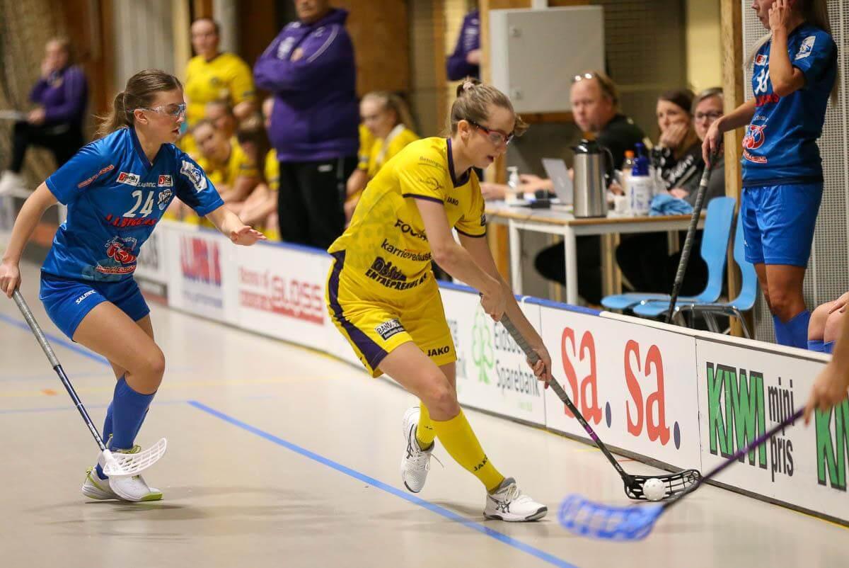 Emma Fagerhøi tester lykken i Sverige, og er klar for spill i Kalmarsund i allsvenskan. Foto: Kent Henriksen
