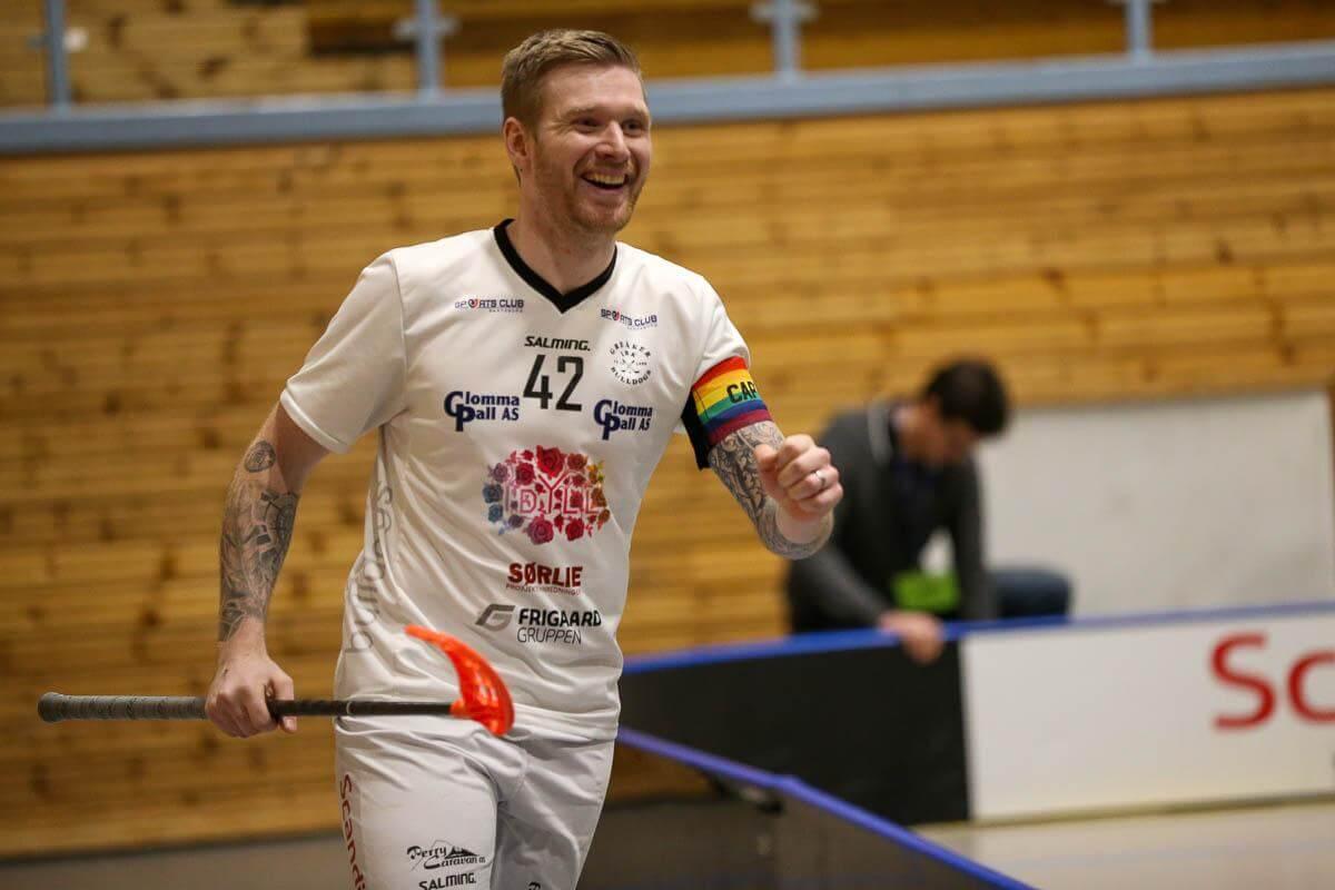 Arvid Wibring Lindqvist var tilbake etter skade og den svenske stjernen scoret to ganger og assisterte til et mål for Greåker i lokaloppgjøret. Foto: Kent Henriksen
