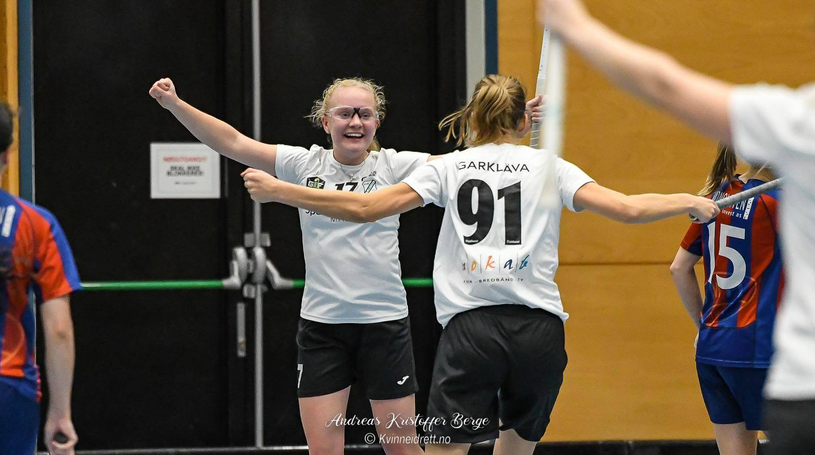 Madeleine Holte Tinholt og Gjelleråsen fikk en god start på dagens oppgjør, men en svak midtperiode ødela mye for nittedølingene. Foto: Andreas Kristoffer Berge