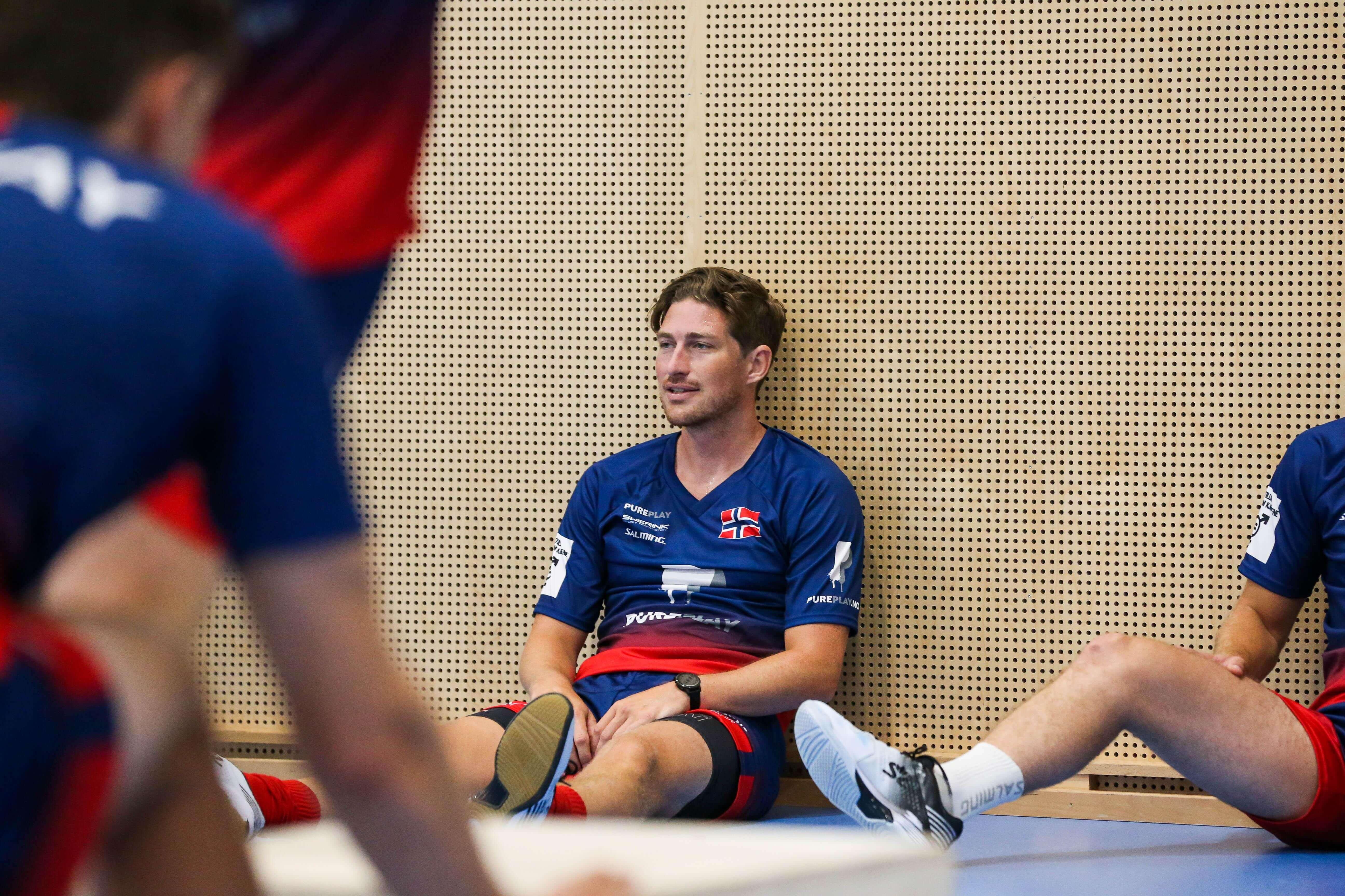 Axel Wallin har fått norsk pass og er en av mange svenskfødte spillere som er aktuelle for VM-spill for Norge. Foto: Kent Henriksen