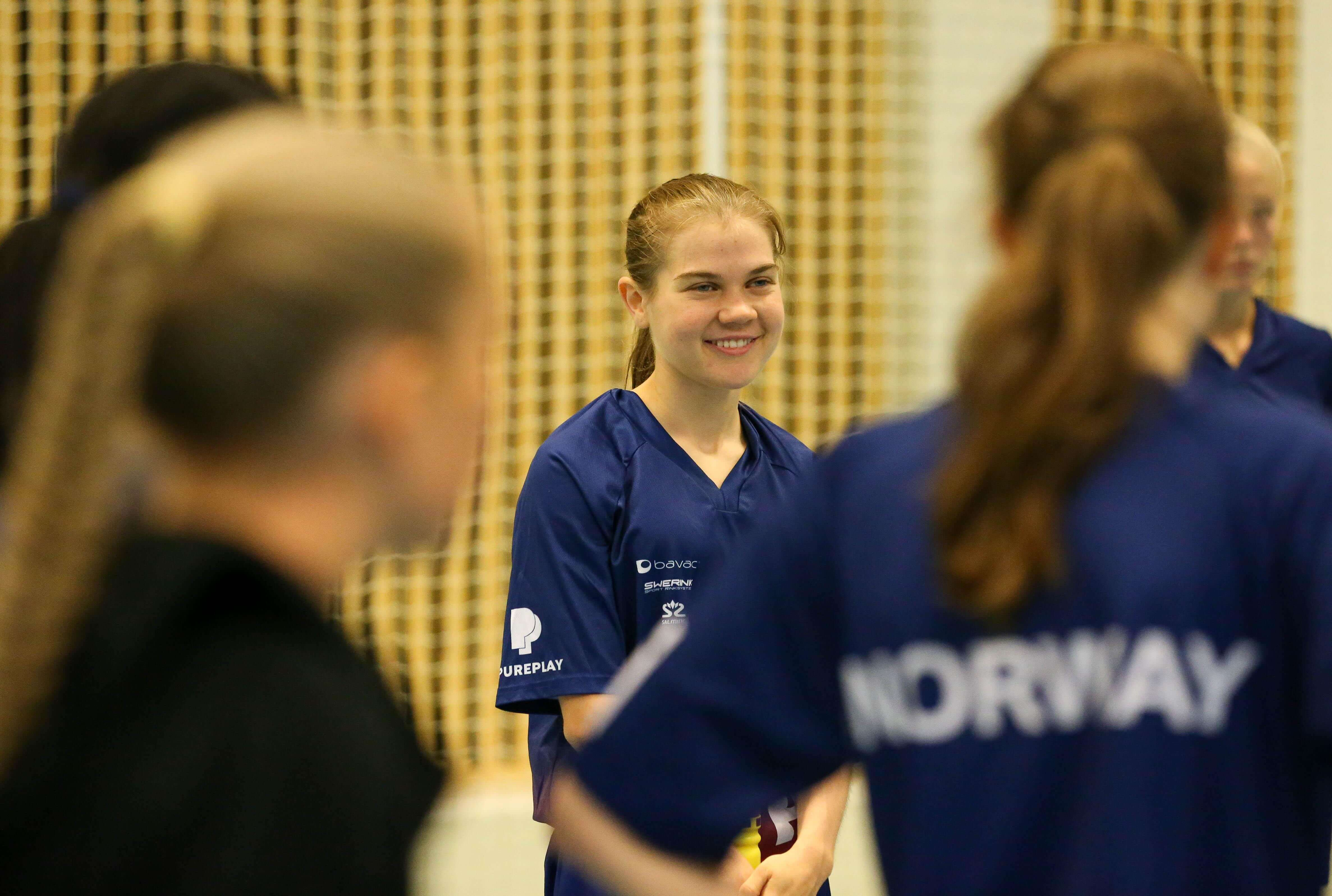Line Trandum Terjesen vant Vikingen for U19 kvinner da landslaget endelig samlet seg igjen. Foto: Kent Henriksen