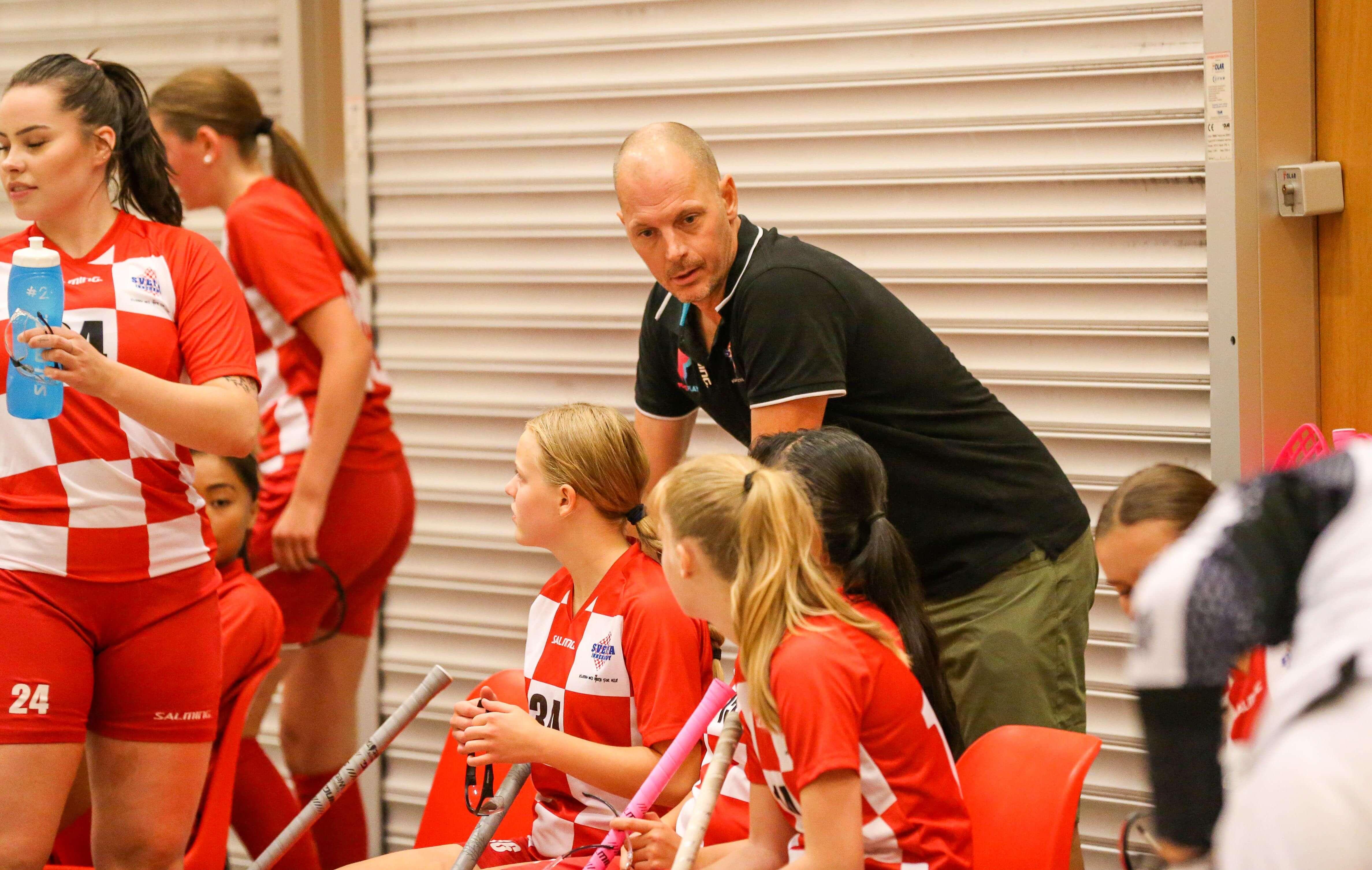 Sveiva har et ungt lag men imponerte på forsesongen. Foto: Kent Henriksen