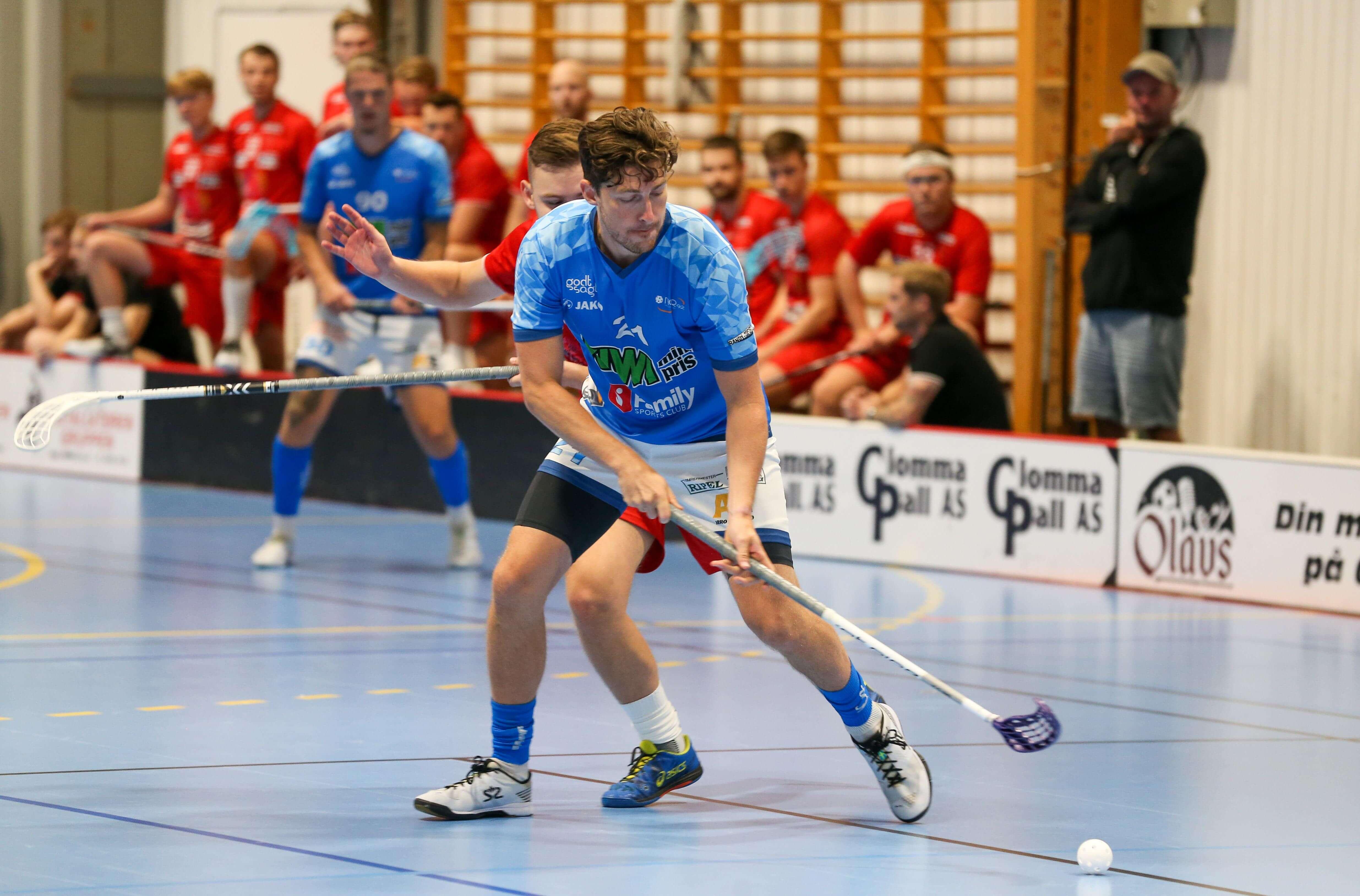 Axel Wallin ble hentet tilbake til Nor 92 etter en kort sejour i 1.divisjon for Asker. Foto: Kent Henriksen