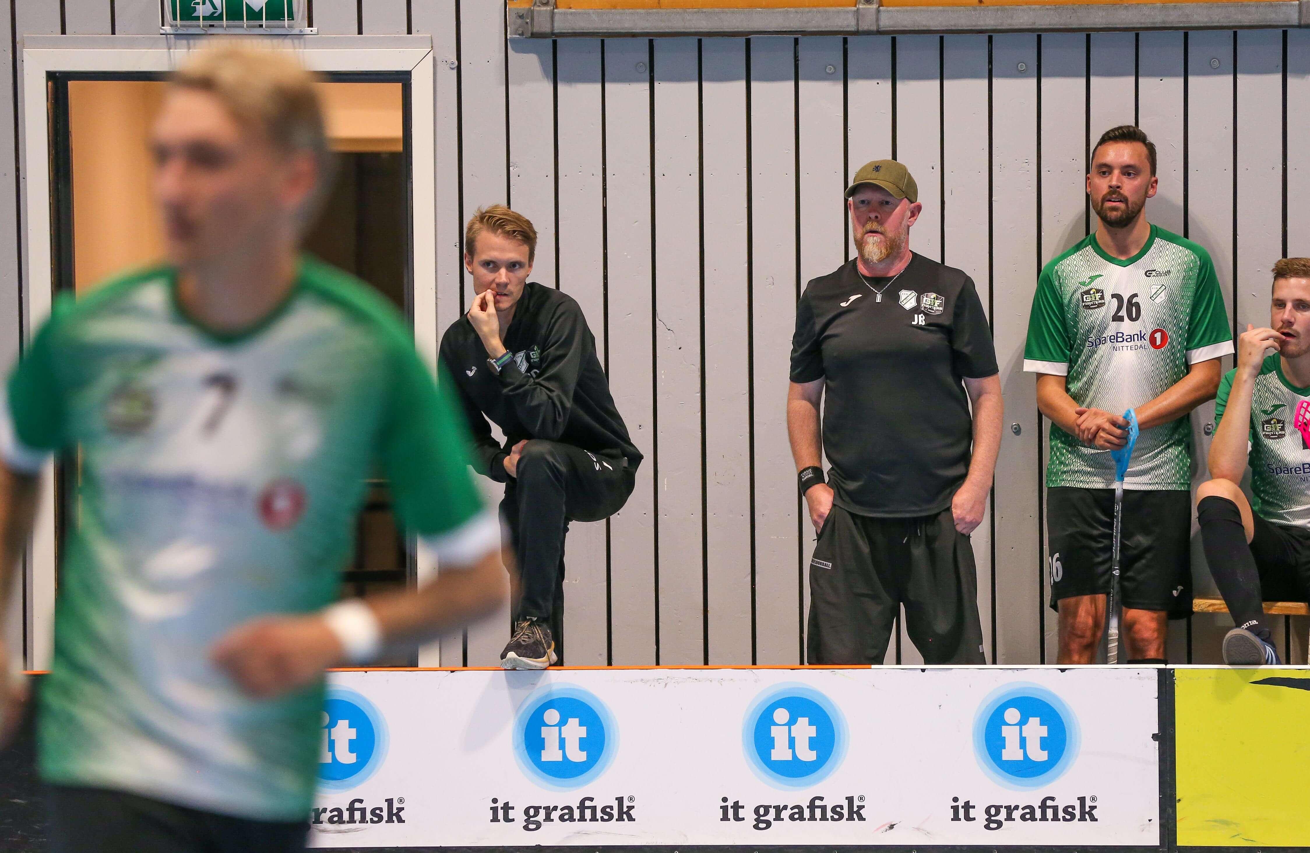 Gjelleråsen har vært flittige i sommer med flere treningskamper, her mot Ull/Kisa sist uke. Foto: Kent Henriksen