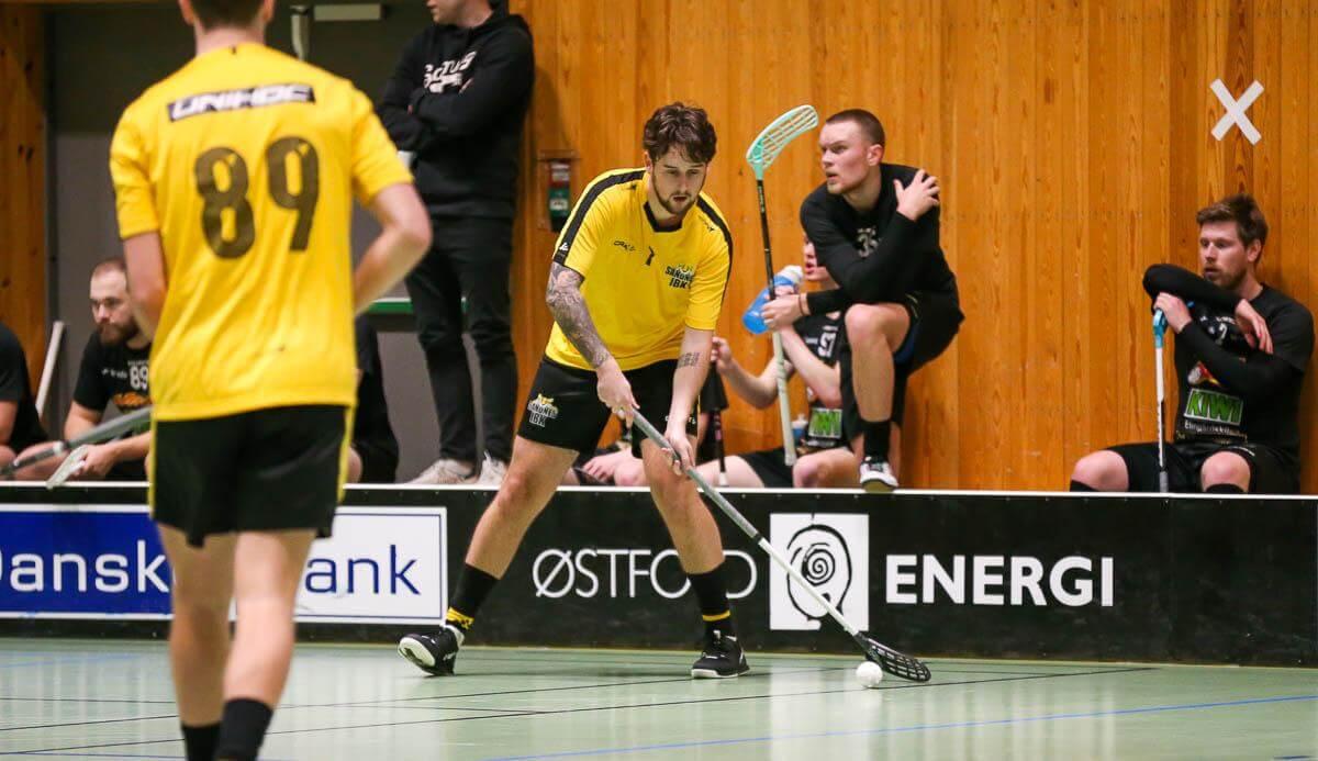 Bilder fra Sleviks oppgjør mot Sandnes i eliteserien for menn 10. januar 2021.
