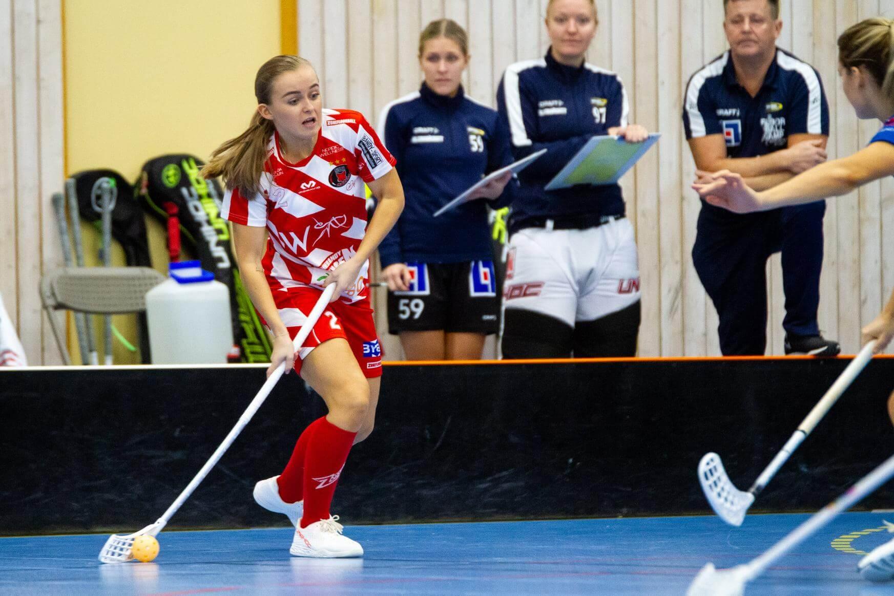 Rikke Ingebrigtsli Hansen ble matchvinner mot Karlstad.