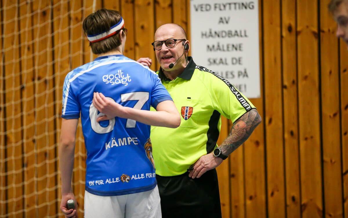 Bilder fra Nor 92s oppgjør mot Slevik i eliteserien for menn 13. januar 2021.