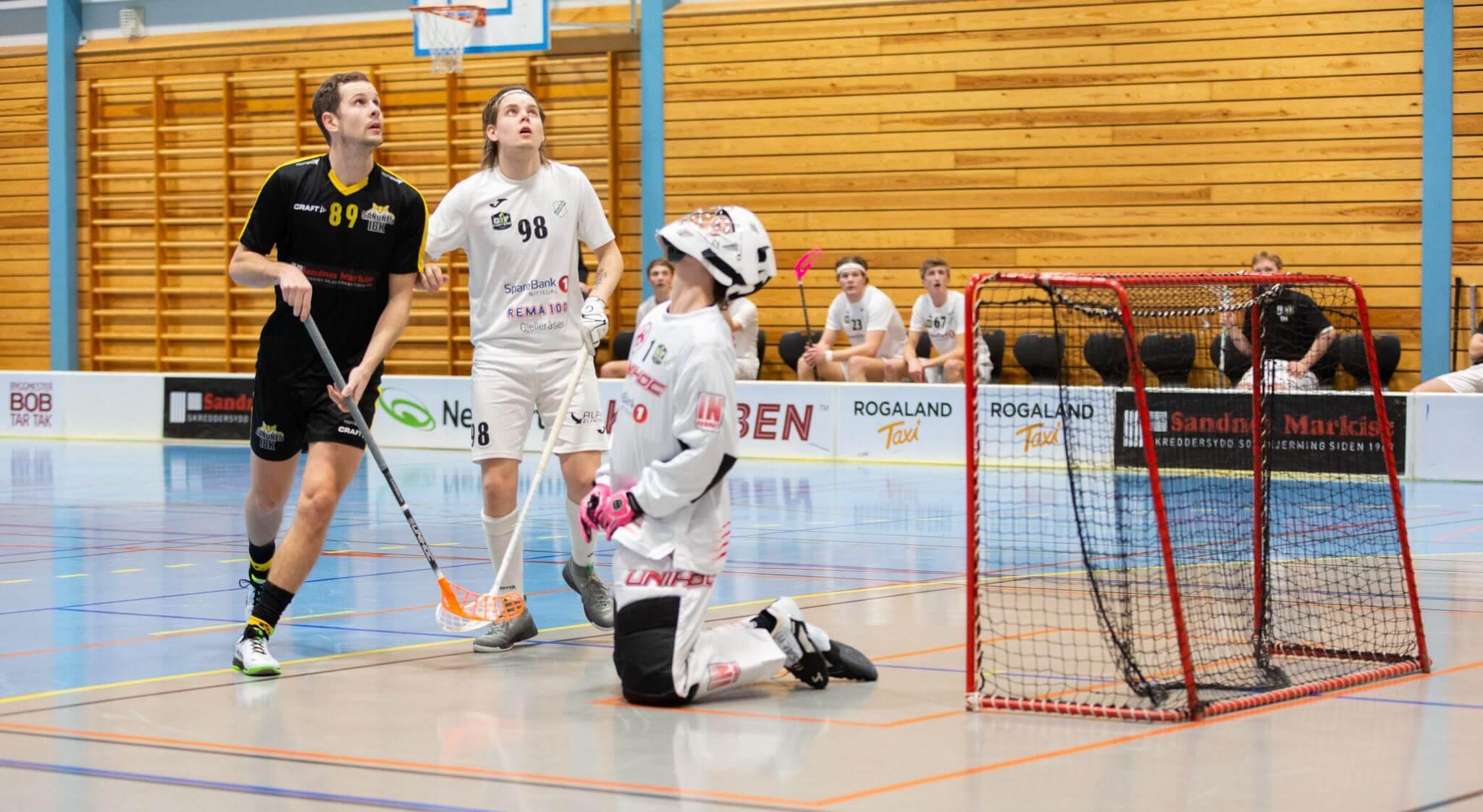 Bilder fra Sandnes kamp mot Gjelleråsen 16. januar 2021.