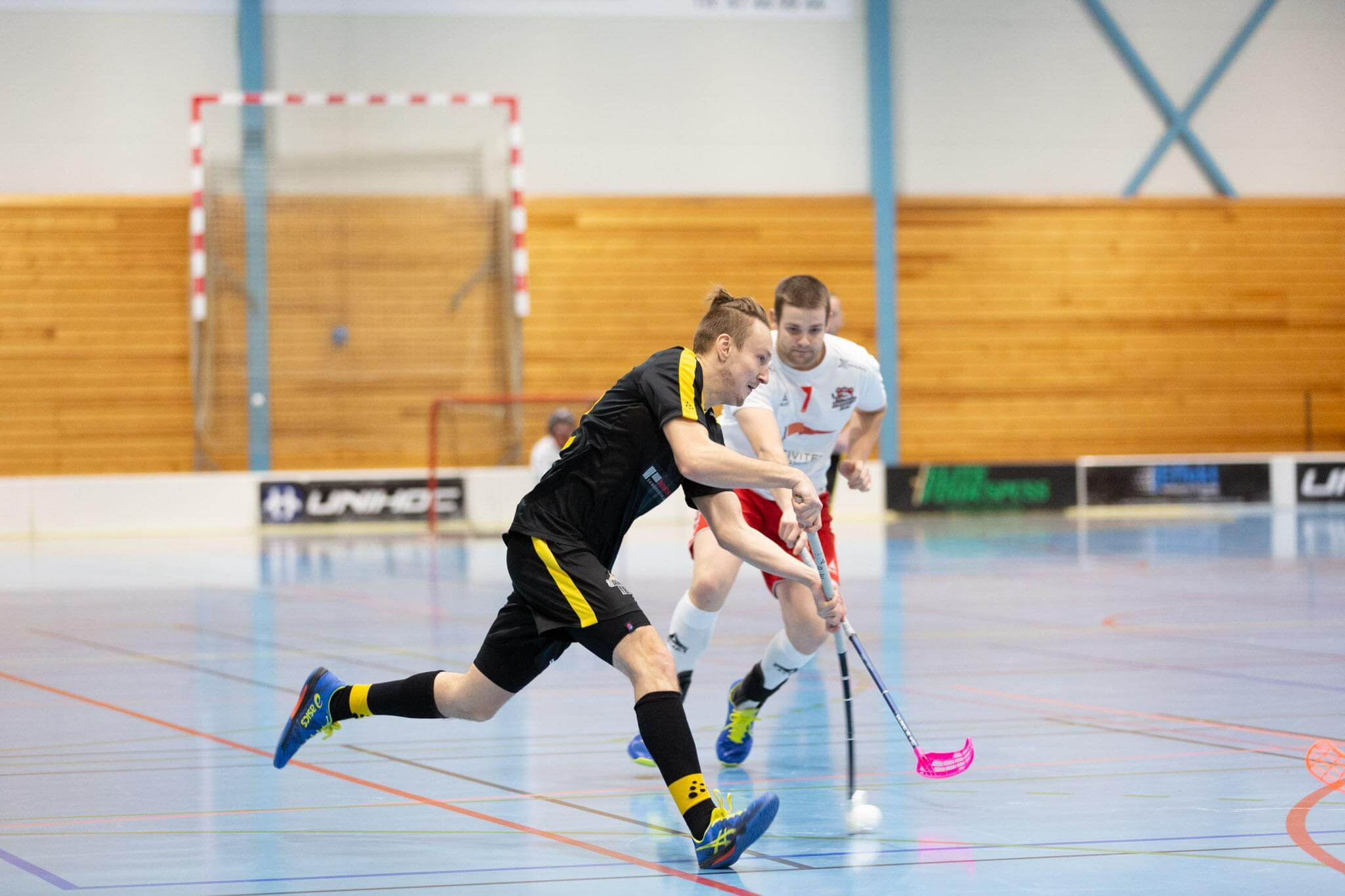 Bilder fra Sandnes oppgjør mot Fredrikstad i eliteserien for menn 19. desember 2020.
