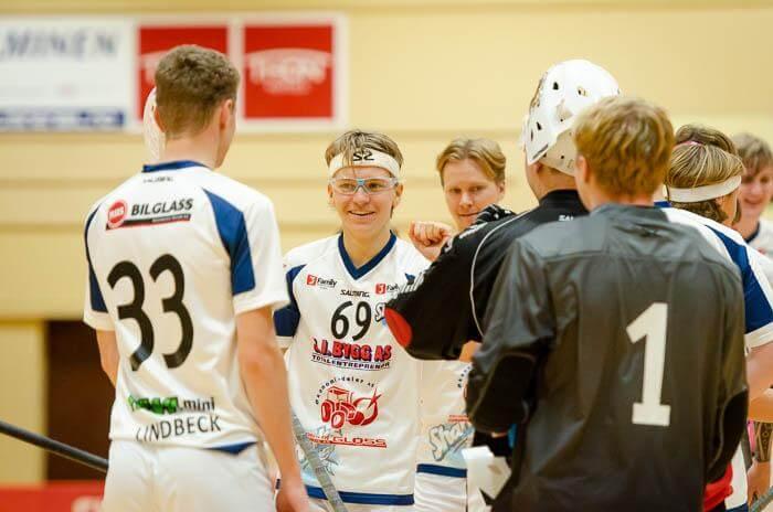 Christoffer Gjødalstuen lå bak fem scoringer (1+4) i dagens seier mot Harstad.